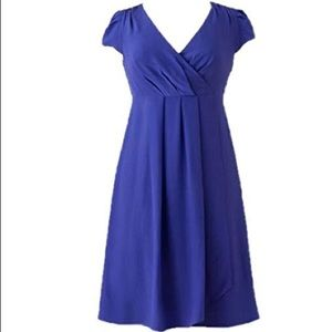 BODEN Limited Edition Silk Dress Blue/Purple